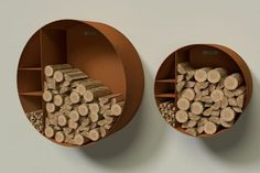 These indoor firewood storage ideas will help you pick the perfect rack for your firewood, keeping your home beautiful without leaving you broke. Indoor Firewood Rack, Firewood Holder, Firewood Storage, Log Shed, Wood Store, Wood Burning Fires, Rustic Room, Corten Steel, Wood Burner