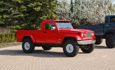 Jeep concept truck. they will never actually mass produce it. only tease us with cool ideas and then produce craptastic ones.