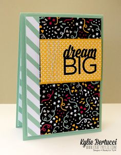 Stampin' Up! Australia: Kylie Bertucci Independent Demonstrator: Occasions Catalogue Stampin' Up! Stars Blog Hop - SU - Enjoy the Little Things - CAS