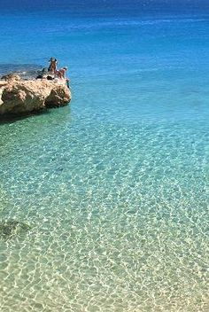 Love ... Italida beach in Koufonissi (Small Cyclades) Greece
