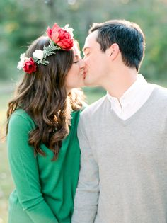 Outdoor fall engagment session: Photography: Dana Fernandez Photography - www.danafernandezphotography.com   Read More on SMP: http://www.stylemepretty.com/2016/11/29/donut-coffee-fall-picnic-engagement-shoot/