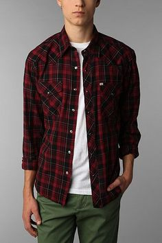 Salt Valley High Point Western Shirt