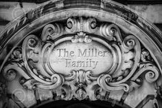 Personalized Plaque Photo, Black and White Photography, French, Architectural Art, New York Print, Manhattan Art, Rustic Decor, Wall Art, Sizes Available from 5x7 to 20x30. Here is a really cool feature, we are offering this photograph with the ability to add your own words. I made it so that it looks like it is carved into the stone! *** A part of one of my favorite buildings in New York; The Ansonia on Amsterdam Avenue. The style is exquisitely ornate, inspired by the grand apartment...