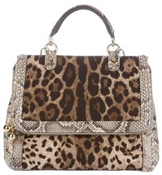 Best Women's Handbags & Bags : Dolce & Gabbana at Luxury & Vintage Madrid , the best online selection of Luxury Clothing Pre-loved with up to discount Fashion Handbags, Purses And Handbags, Fashion Bags, Animal Print Fashion, Animal Print Bags, Animal Prints, Leopard Prints, Leopard Bag, Brown Leopard