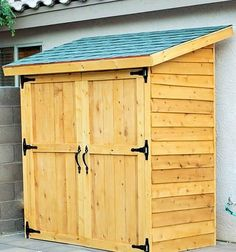 My Shed Plans - Build a New Storage Shed with One of These 23 Free Plans: Small Cedar Fence Picket Storage Shed Plan - Now You Can Build ANY Shed In A Weekend Even If You've Zero Woodworking Experience!