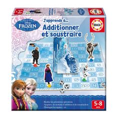 "Jeu éducatif Jeu Frozen ""J'apprends à additionner et soustraire"" Jeu Frozen ""J'apprends à additionner et soustraire"""