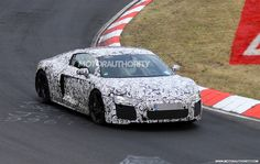 2016 Audi R8 Spy Shots (With Interior)