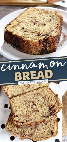 A thick slab of this no-yeast quick bread is delicious for breakfast and as a snack! This recipe for Cinnamon Bread is perfect for sharing as it yields multiple loaves. Treat family and friends with this scrumptious homemade food gift! Add this to your fall baking list!