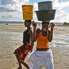 Africa on souffre mais on garde le sourire les plaisirs simple. Translate that. :)