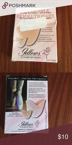 Fellowship toe pads for pointe shoes New in the box gellows Accessories
