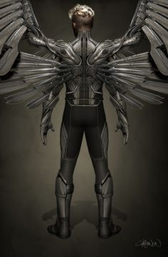 Concept Art Revealed for Ben Hardy's Angel in X-MEN: APOCALYPSE — GeekTyrant