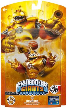 #ToysRus                  #Toys #Action Figures     #skylander #lif #powers #bouncer #skylanders #individual #character #own #giants #unique #giant #ultimate #collection #super #game #pack #size              Skylanders Giants Individual Character Pack - Bouncer                         Bring the Skylanders to Life! The Giant Skylanders are super size and have super powers. Build the ultimate collection of Skylanders - over 45 Skylanders to collect! Each Skylander has their own unique powers…