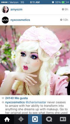 Maquillaje de fantasía MUÑECA