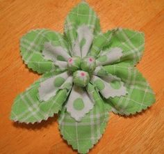 Super Easy Fabric Flower Tutorial   Bumbleberries Boutique by Bridget Carbello