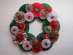 Paper Christmas Wreath.30