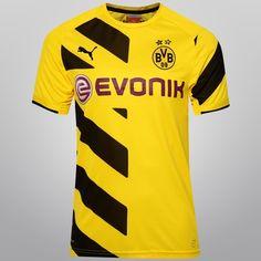 Camisa Puma Borussia Dortmund Home 14 15 s nº - Compre Agora 6f0d62a790e79