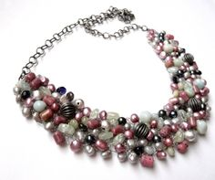 FREE shipping  The Azzurre necklace/ Only one by anthology27, $115.00