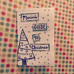 #christmas #zine #minizine #guide #handmade #holidays #writing