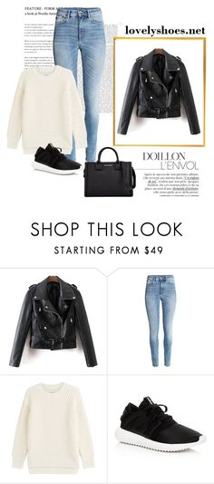 """""""Untitled #982"""" by teszter0528 on Polyvore featuring Closed, adidas and Karl Lagerfeld"""