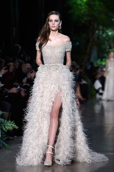 Elie Saab spring 2015 couture dress