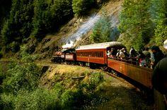 Skunk Train, Fort Bragg, CA