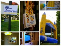 Paper Court Press: Blue Angels birthday party