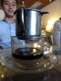 The world's greatest coffee in Vietnam!