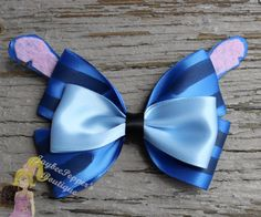 Lilo and Stitch hair bow Stitch inspired hair bow