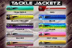 Tackle Jacketz designs that shrink on almost any hard bait! #lurebuilding #luredesigns