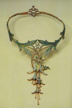 By Alphonse Mucha Jewelry