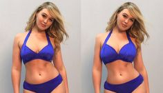 Model Iskra Lawrence Edited Her Own Picture To Show Perfection Doesn't Exist - SELF