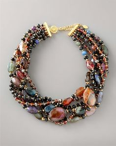 Jose & Maria Barrera  Twisted Strand Necklace, add Jose & Maria Barrera butterfly pin for a stunning statement necklace http://www.neimanmarcus.com/store/catalog/prod.jhtml?itemId=prod134770151&parentId=cat41330743&masterId=cat6020734&index=44&cmCat=cat000000cat2830732cat2830733cat000160cat6020734cat41330743&isEditorial=false