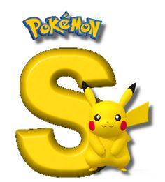 Abecedario de Pikachu de Pokémon. Pikachu Alphabet. Pokemon Birthday Cake, Minecraft Birthday Party, Pokemon Party, Sacha Pokemon, Pokemon Letters, Pikachu Drawing, 150 Pokemon, Alphabet, Birthday Party Decorations Diy