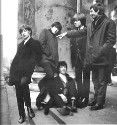 Stones, another early 60's publicity shot.