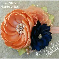 Diy Lace Ribbon Flowers, Nylon Flowers, Cloth Flowers, Satin Flowers, Flowers In Hair, Fabric Flowers, Baby Girl Hair Accessories, Flower Hair Accessories, Fabric Brooch