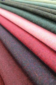 Bursting with colour, @Harris Novick Tweed Authority give us a sneak peek into next season's range!
