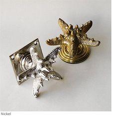 Horned Starfish Shell Door Knob Product DF 59