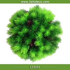 Cypress Artificial Topiary Grass Ball with cone