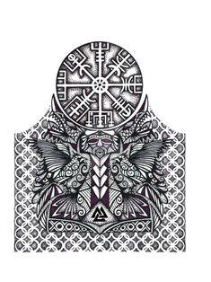 Viking Half Sleeve tattoo by thehoundofulster on DeviantArt Half Sleeve Tattoos Viking, Viking Tattoos For Men, Viking Tattoo Symbol, Tattoos For Women Half Sleeve, Norse Tattoo, Full Sleeve Tattoos, Tattoo Sleeve Designs, Tattoo Designs Men, Yin Yang