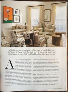 Architectural Digest, Italia, May 2016