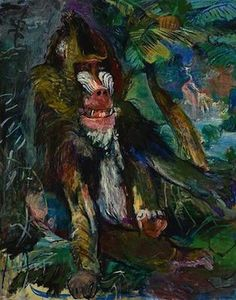 Le babouin, par Oskar Kokoschka