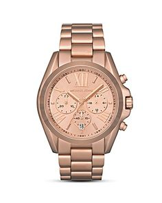 I am going to start saving up for this little gem! Michael Kors Rosegold Watch $250 <3