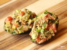 Tuna-Stuffed Avocados | 23 Cool Things To Do With Canned Tuna