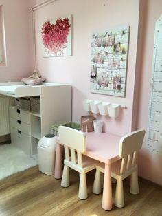 Balatonalmádi egyik legcukibb babaszobája | Lakásművészet Corner Desk, Vanity, Mirror, Furniture, Home Decor, Corner Table, Dressing Tables, Powder Room, Decoration Home