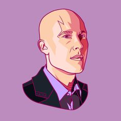 Lex Luthor - Smallville - by Jonathan B Perez Lex Luthor Smallville, Character Ideas, Popular Culture, Digital Illustration, Sketch, Superhero, Portrait, Tv, Movie Posters