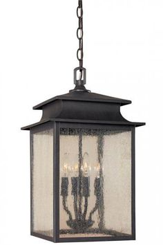 Sutton 4-Light Outdoor Hanging Lantern - Outdoor Lanterns - Outdoor Hanging…