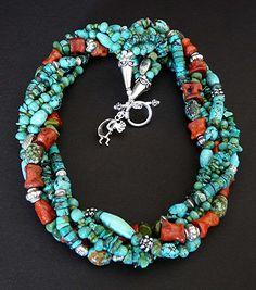 Handmade Turquoise Necklaces by experienced turquoise jewelry
