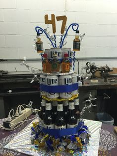 Miller Lite Beer Cake for your boss #beercake