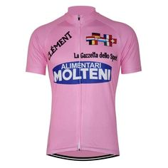 Retro Eddy Merckx Giro D'Italia Pink Jersey-Online Cycling Gear