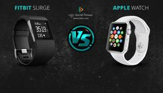The Fitbit vs. Apple Watch | inKin Social Fitness Blog